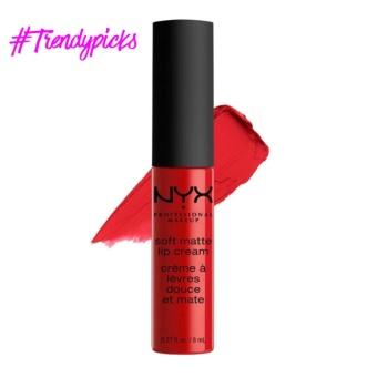 NYX Professional Makeup SMLC01 Soft Matte Lip Cream - Amsterdam