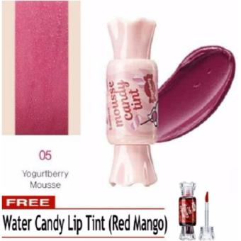 OEM Water Candy Tint Blush On and Cheek Tint Lipstick (Yogurtberry)FREE Red Mango Water Candy tint