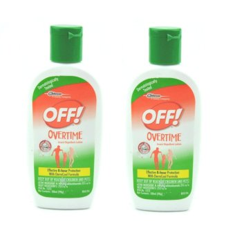 OFF! Overtime Insect Repellant Lotion 100ml Set of 2