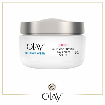 Olay Natural White Rich Day Cream SPF 24 50g