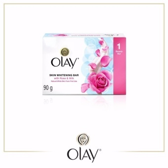 Olay Skin Whitening Bar Soap with Rose and Milk 90g -Original