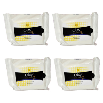 Olay Total Effects 7-in-1 Intense Moisture Wipes Set of 4