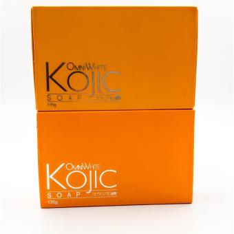 Omni White Kojic Soap 135g Set of 2 Bars