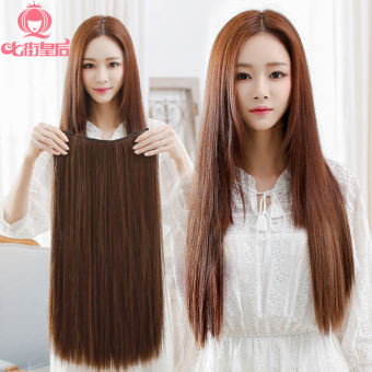 One-piece five card Long Hair high temperature wire hair extension