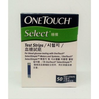OneTouch Select Test Strips (50 strips)