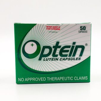 Optein lutein capsules for eye-health 50 capsules