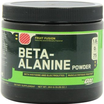 Optimum Nutrition Beta Alanine Powder Dietary Supplement, FruitFusion 263g Price Philippines