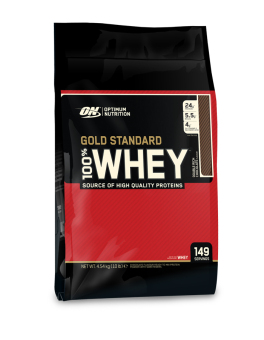 Optimum Nutrition Gold Standard 100% Whey 10lbs (Double Rich Chocolate)