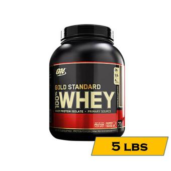 Optimum Nutrition Gold Standard 100% Whey - 5lbs - Extreme Milk Chocolate