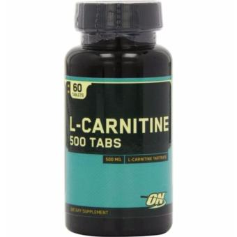 Optimum Nutrition L-Carnitine Dietary Supplement 500mg, Bottle of60 Price Philippines