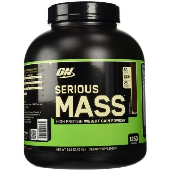 Optimum Nutrition Serious Mass 6 Pounds (Chocolate)