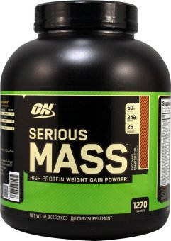 Optimum Nutrition Serious Mass 6lbs (Chocolate Peanut Butter) Price Philippines