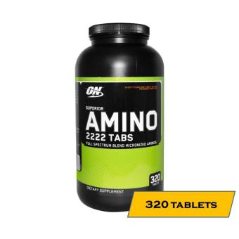Optimum Nutrition Superior Amino 2222 Tablets, Bottle of 320 Tablets Price Philippines