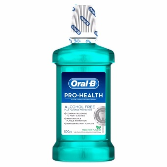 Oral-B Prohealth Alcohol Free Fresh Mint Flavor Rinse 500ml Price Philippines