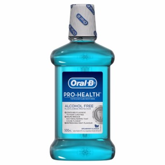 Oral-B Prohealth Alcohol Free Spearmint Flavor Rinse 500ml Price Philippines