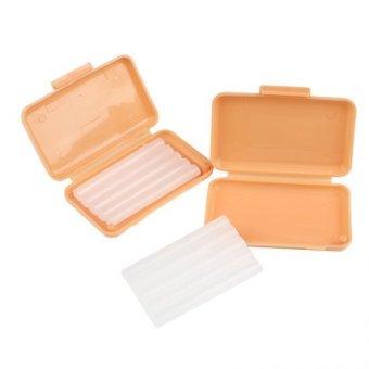 Orange scent 10 Packs Dental Orthodontics Ortho Wax For Braces gumirritation - 4