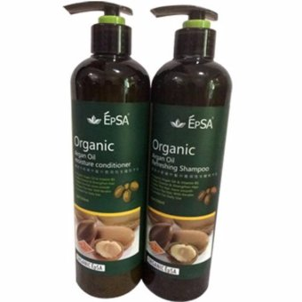 Organic Argan Oil Refreshing Shampoo and Moisture Conditioner 550mlset (EPSA) Price Philippines