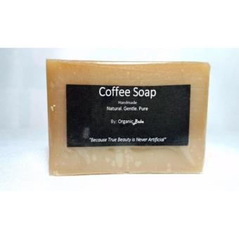 Organic Babe - Handmade Soap - Coffee Soap (1 pc.) - Natural Solution to Reduce Cellulite