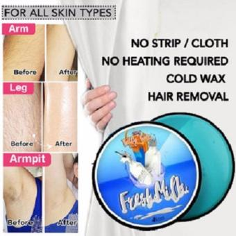 Organic Fresh Milk Cold Wax Hair Removal 250g
