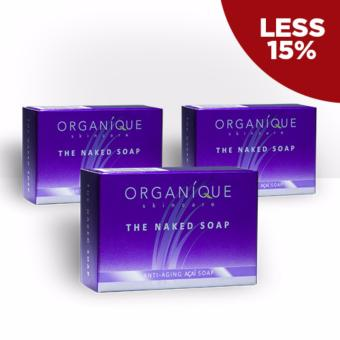 Organique Skin Care The Naked Soap 90g Bundle of 3 Price Philippines