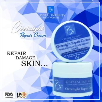 Overnight Repair Cream 25g by. Crystal Infinity Price Philippines
