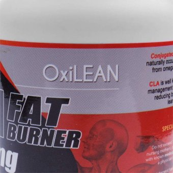 OXILEAN CLA Fat Burner 1000mg Softgels Bottle of 60 - picture 2