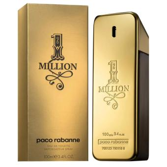 Paco Rabanne 1 Million Eau De Toilette Spray For Men 100ml