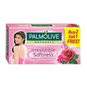 Palmolive Naturals IRRESISTIBLE SOFTNESS 115g 3-bar Value Pack Buy2 Get 1 Free Price Philippines
