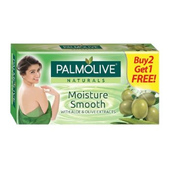 Palmolive Naturals MOISTURE SMOOTH 80g 3-bar Value Pack Buy2Get1Free Price Philippines