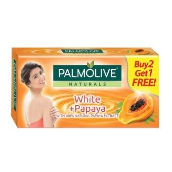 Palmolive Naturals WHITE + PAPAYA 80g 3-bar Value Pack Buy 2 Get 1Free