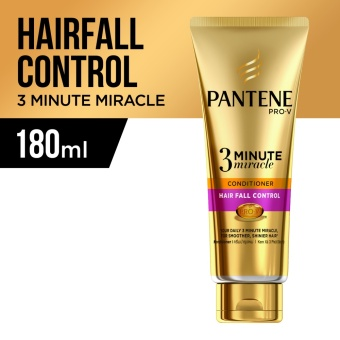 Pantene 3 Minute Miracle Intensive Hair Fall Control Conditioner 180ml