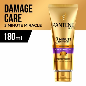 Pantene 3 Minute Miracle Intensive Total Damage Care Conditioner 180ml