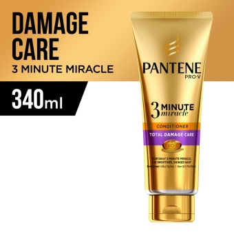 Pantene 3 Minute Miracle Intensive Total Damage Care Conditioner 340ml Price Philippines