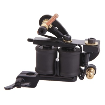 Panther XHJ006A 10-Coil Liner Tattoo Machine Black - intl - 2