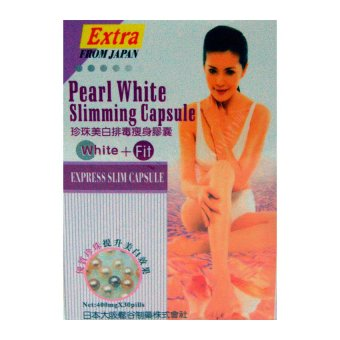 Pearl White Slimming (Extra), 400 mg X 30 capsules