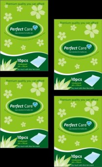 Perfect Care Disposable Underpads 10s Pack of 4