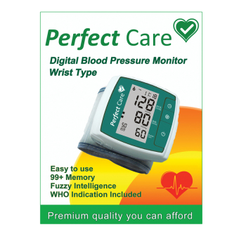 Perfect Care Wrist Premium Digital Blood Pressure Monitor