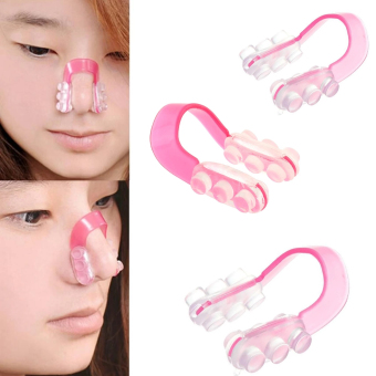 Perfect Nose Up Lifting Clip Set of 3 (Pink)