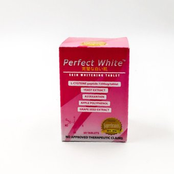 Perfect white skin whitening tablets 30's Price Philippines