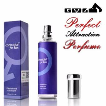 Perfume fragrance for Sex Connubial attractant Pheromone for Men (Blue)