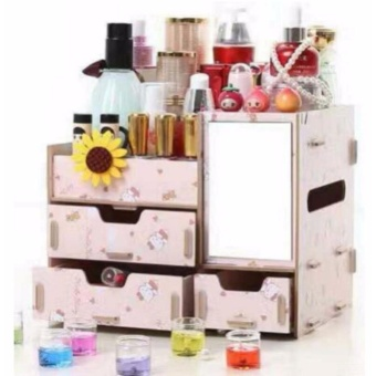 Phoebe's Diy make up organizer wooden box HK
