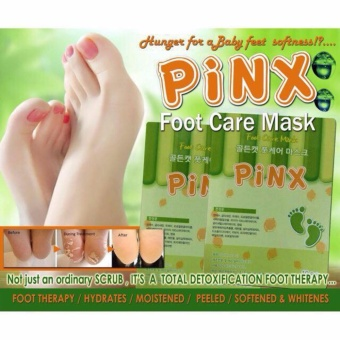 PINX FOOT CARE EXFOLIATING MASK