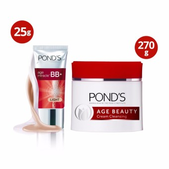 Pond's Age Beauty Cold Cream and Age Miracle Bb Cream At 20% Off - 2