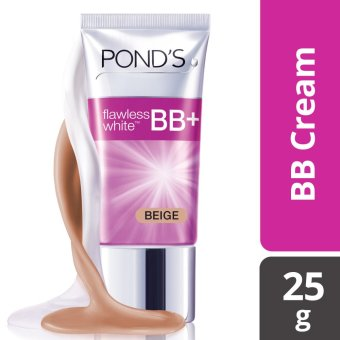 POND'S FLAWLESS WHITE BB CREAM BEIGE 25G .