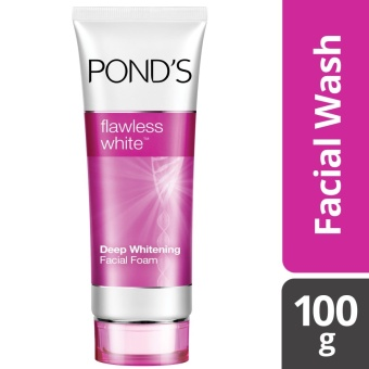 POND'S FLAWLESS WHITE FACIAL FOAM 100G .