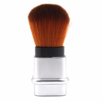 Pop Art Kabuki Single Make up Brush (Silver) - 2
