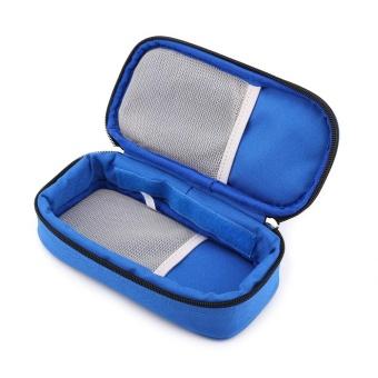 Portable Diabetic Carrying Case Insulin Cooler Bag Holder CaseOrganizer (Blue) - intl - 5