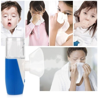 Portable Ultrasonic Nebulizer Handheld Respirator HumidifierBattery Operated - intl