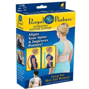 Posture Align Your Spine back brace support garment Posture BackSupport Brace Women Men posture corrector- Xlarge
