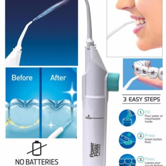 Power Floss Electric Dental Water Jet Teeth Flosser Oral Pick Waterpik Tooth Irrigator Whitening Cordless Cords Batteries Portable As Seen on TV